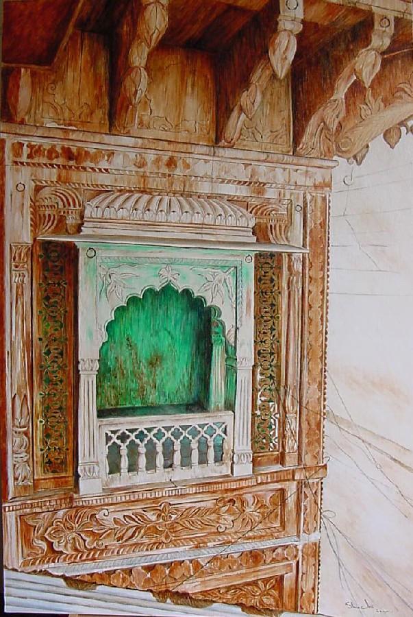 Emerald balcony