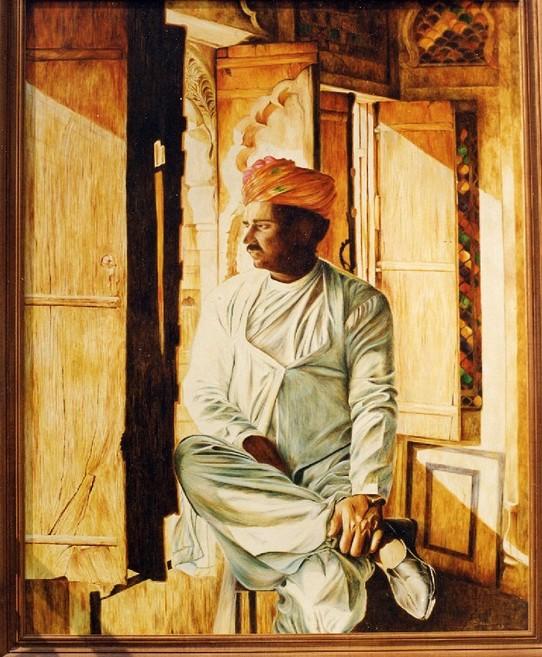 The caretaker at mehrangarh
