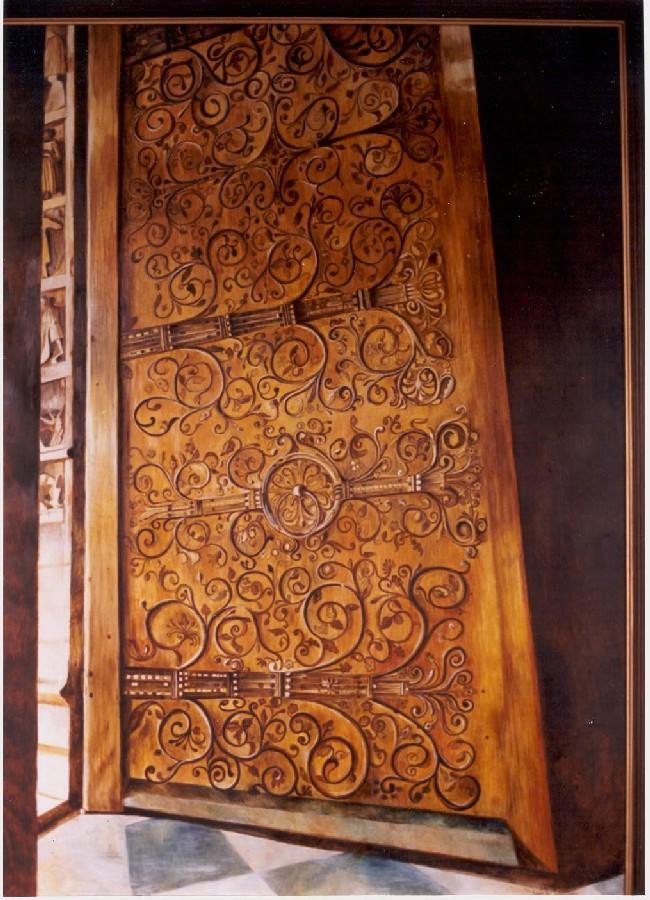 Last Door of Notre Dame