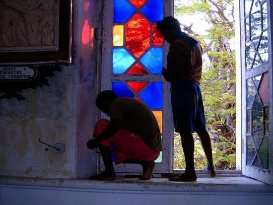 la réparation des fenêtres