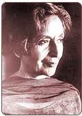 Amrita Pritam, une des plus grandes écrivains indiennes du 20ème siècle.