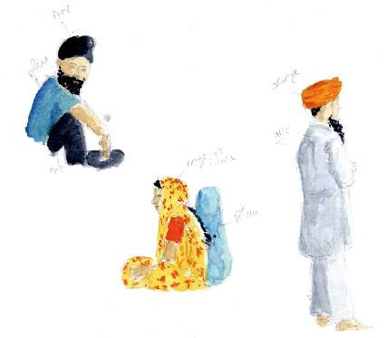 Gwalior (extrait du nouveau carnet de voyage de Phil : Madhya Pradesh et Benares)