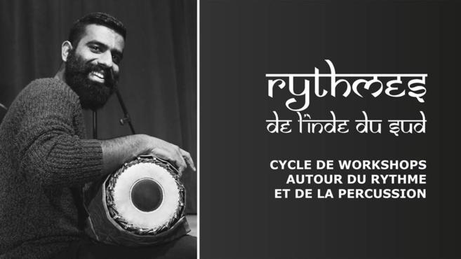 Rythmes de l'Inde du Sud - Cycle d'ateliers autour du rythme et de la percussion