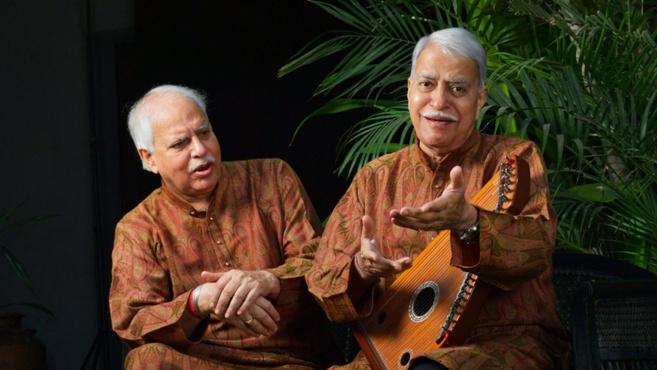 Rajan & Sajan Mishra au Théâtre de la Ville à l'Espace Cardin le 15 octobre 2018