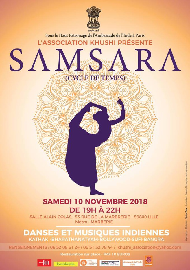 Samsara - Cycle De Temps le 10 novembre 2018 à Lille