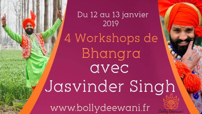 Stage de danse Bhangra par Bolly Deewani en janvier 2019