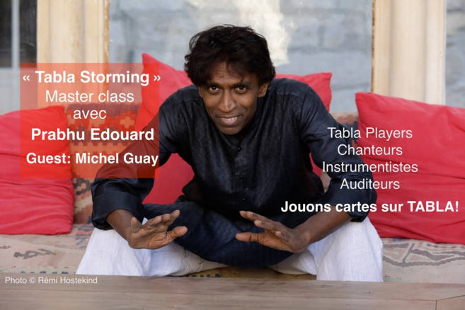 Masterclass Prabhu Edouard & Guest Michel Guay samedi 8 décembre 2018 à Pantn