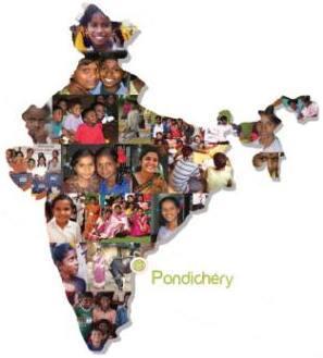 L'association SHARANA à Pondichéry.