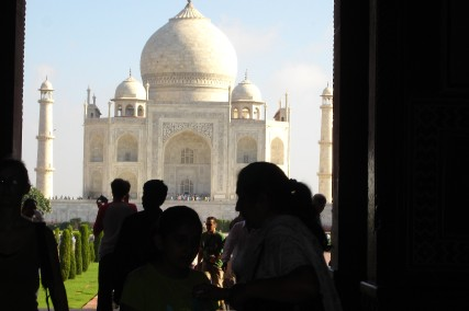 Le Taj Mahal enfin...