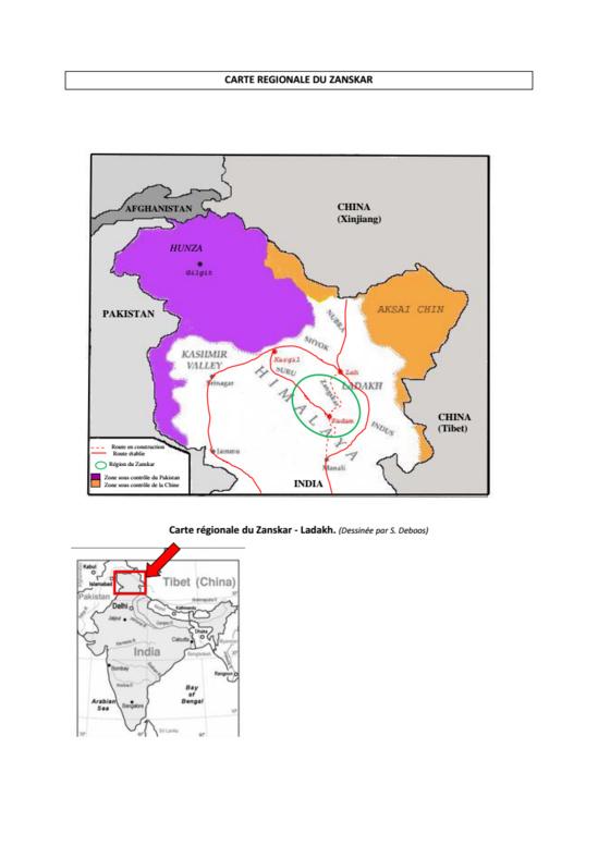 Présentation sommaire du Zanskar