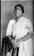 Portrait de Sarojini Naidu
