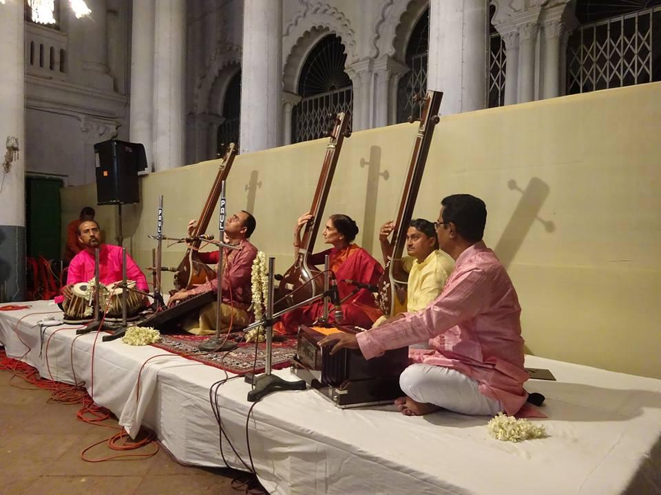 Concert de musique Indienne traditionnelle à Montreuil (Région Parisienne) le 19 septembre 2018