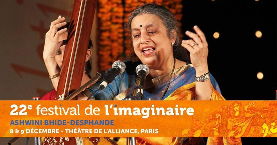 Concert de chant Khyal avec la grande chanteuse Indienne Ashwini Bhide-Deshpande