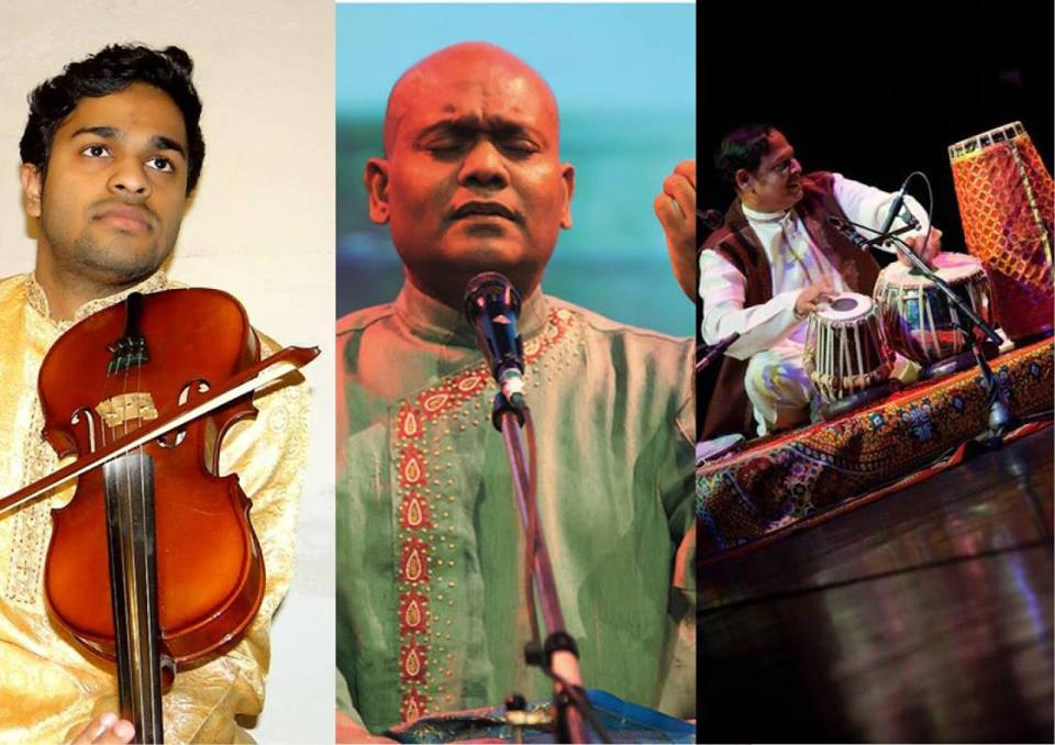 Concert de chant carnatique au Mandapa à Paris Dimanche 30 septembre