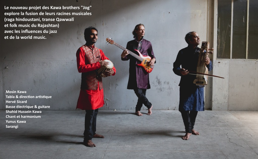 Les Kawa Brothers en tournée en France du 6 octobre au 2 novembre 2018