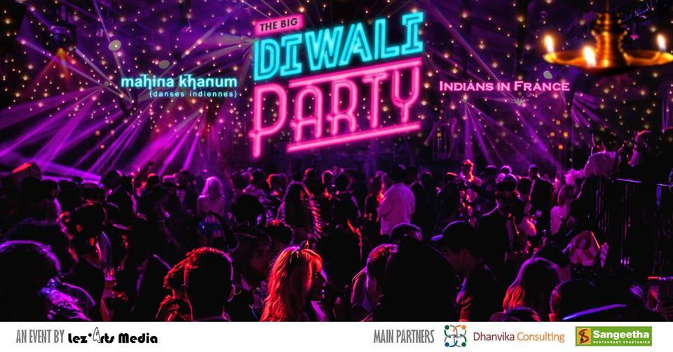 Grande Diwali Bollywood Party à Paris le Samedi 10 novembre