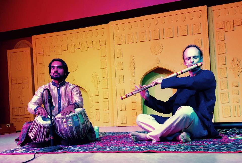 Concert de Guillaume Barraud du 16 octobre dernier à la Maison de l'Inde