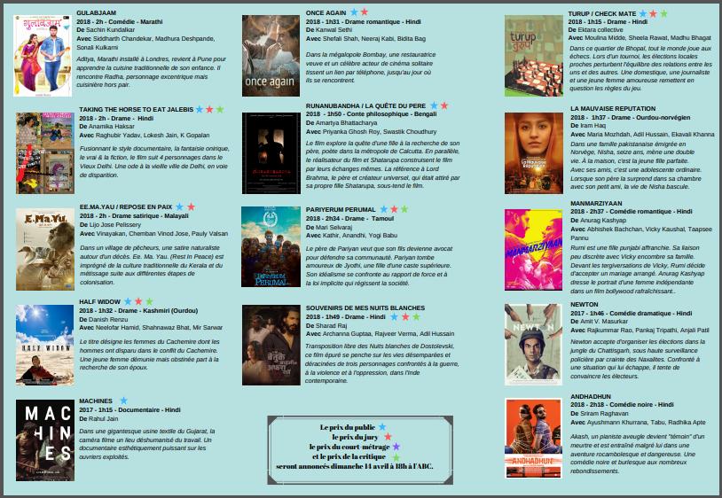 Festival du cinéma Indien de Toulouse