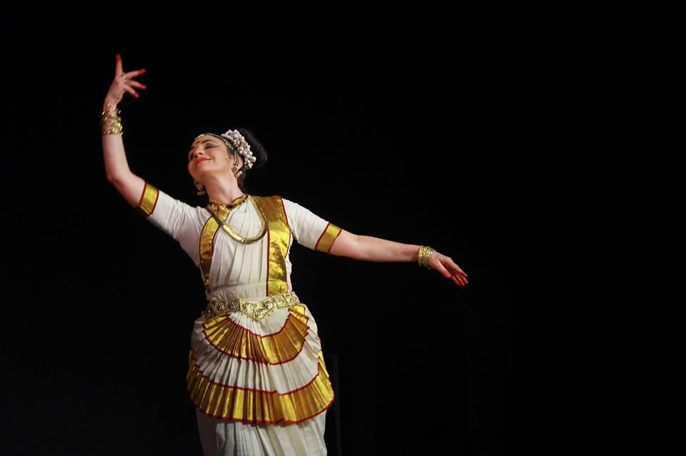 Conférence dansée, Mohini Attam / Brigitte Chataignier le 26 avril