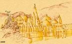 Carnet de Route Inde (Rajasthan), écrit et illustré par Philippe Bichon.